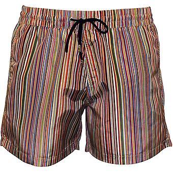 Paul Smith Multi Stripe Swim Shorts, Multicolor