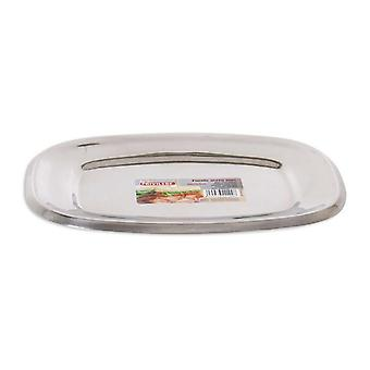 Serving Platter Privilege Stainless steel Rectangular (26,2 x 18,5 cm)
