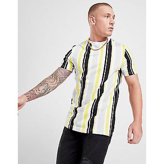 New STATUS Men's Floss T-Shirt Yellow
