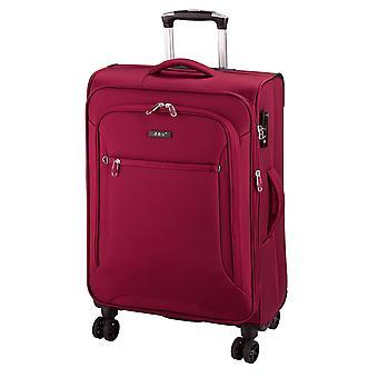 d&n Línea de viaje 6404 Carro M, 4 ruedas, 68 cm, 70 L, rojo