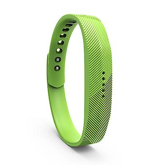 Ersatz Armband Armband Band Band für Fitbit Flex 2[Large,Green]