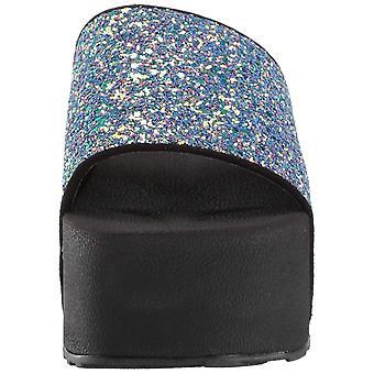 Jessica Simpson mulher Faille2 slide sandália
