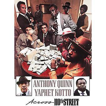 Across 110th Street [DVD] USA importeren