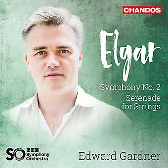 Elgar / BBC Symphony Orchestra - Symphony 2 / Serenade for Strings [SACD] USA import