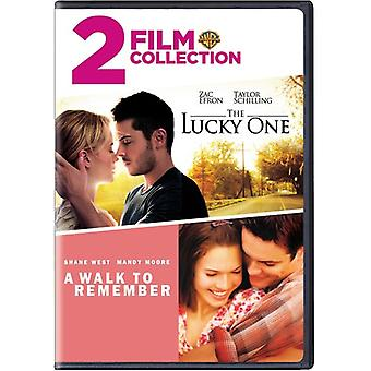 Lucky One / Walk to Remember [DVD] USA import