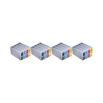 RudyTwos 4 x produit compatible pour Epson 79XL(TowerofPisa) encre unité noir Cyan Magenta & jaune Compatible WorkForce Pro WF-4630DWF, 4640DTWF-WF, WF-5110DW, 5190DW-WF, WF-5620DWF, WF-5690DWF