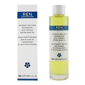 Atlantic kelp and microalgae anti fatigue toning body oil 249996 100ml/3.3oz