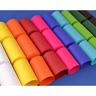 100 Mixed Plain Make & Fill Your Own DIY Recyclable Christmas Cracker Boards