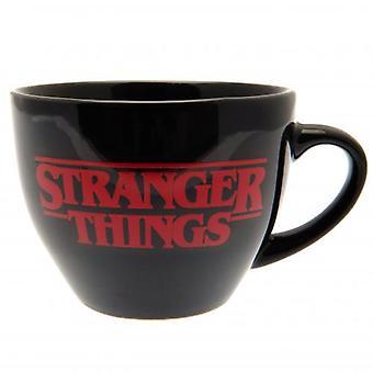 Stranger Saker Cappuccino Mugg