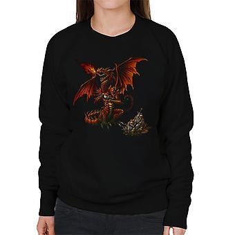 Alchemy theotholax Draconis vrouwen ' s Sweatshirt
