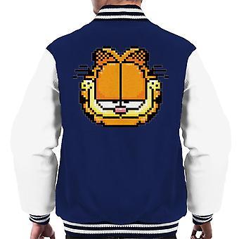 Garfield kornete selvtilfreds blikk mannskap ' s Varsity Jacket