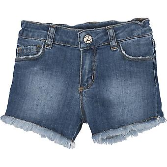 Mamino  Girl  Katie   Denim   Blue   Short