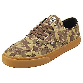 Element Topaz C3 Mens Skate Trainers in Camouflage