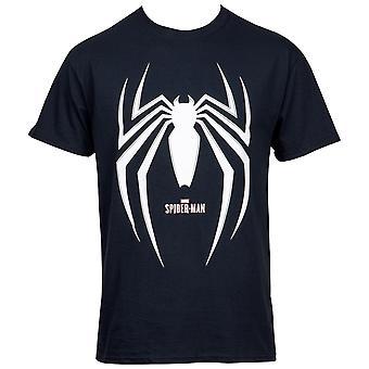 Spider-Man Gamerverse Symbol Black T-Shirt