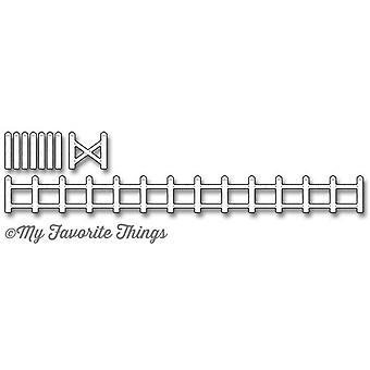 My Favorite Things Die-Namics Animal Farm Fence