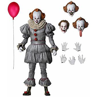 Stephen Kings Es 2 7- Ultimate Action Figur Pennywise 2019 Materiale: Plast, Producer: NECA