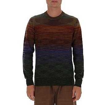 Missoni Mun00142bk00m0s203t Men's Multicolor Wool Sweater