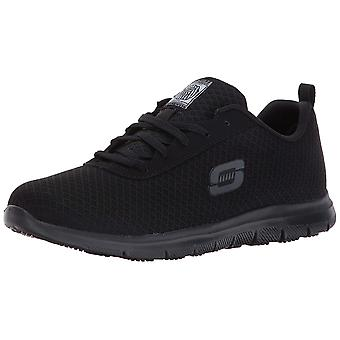 Skechers Womens 77210W Canvas Low Top Lace Up Running Sneaker