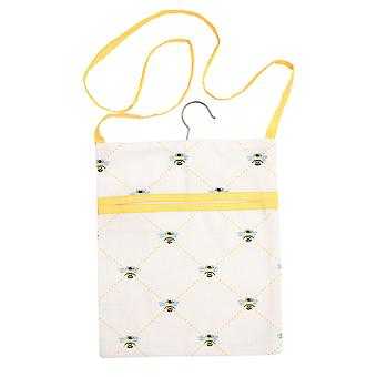 Dexam Bees Knees Peg Bag, Yellow