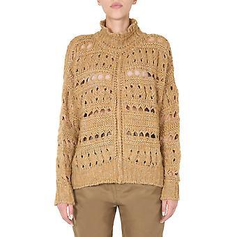 Isabel Marant Pu070520a042i10yw Women's Bege Wool Sweater