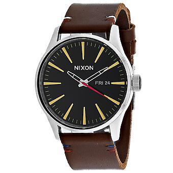 150, Nixon Men 's A105-019 Quartz Brown Watch