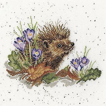 Wrendale Designs New Beginnings (XHD51) Cross Stitch Kit by Bothy Threads