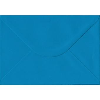Ijsvogel blauw gegomd C5/A5 gekleurde blauwe enveloppen. 100gsm FSC duurzaam papier. 162 mm x 229 mm. bankier stijl envelop.