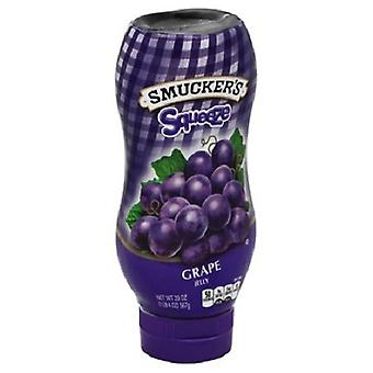 Smucker ' s squeeze Grape Jelly