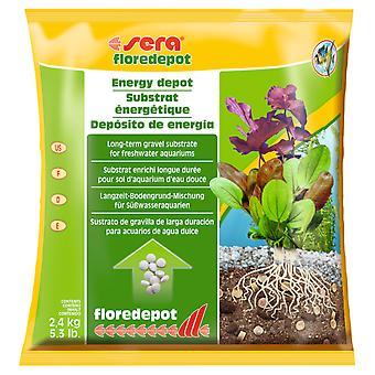 Sera 3378 Floredepot Energy Depot Substrat 2,4 kg (Fische , Pflanzenpflege , Substrate)