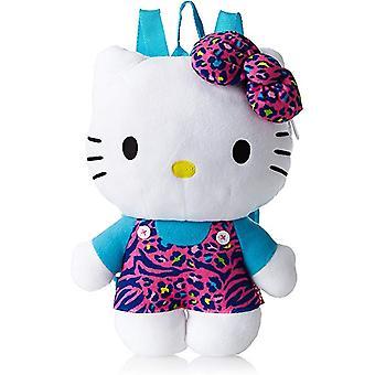 Plush Backpack - Hello Kitty - Animal Print 16
