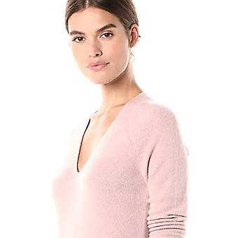 Brand - Daily Ritual Women's Mid-Gauge Stretch V-Neck Sweater Dress, P...