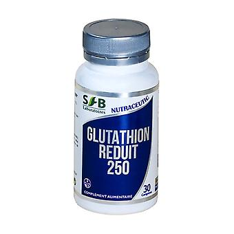 Gluthathione reduced 250 mg + calcium 30 tablets
