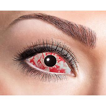 Sangre de lentes de contacto de la esclera del ojo 22 mm