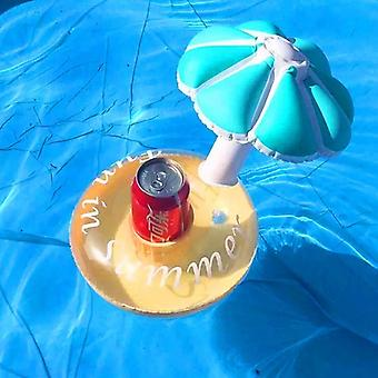 Champignon Drink Holder Float Legetøj Swimming Pool Flåder-Oppustelige Floating Summer Beach Party Kids Telefon Cup Indehavere