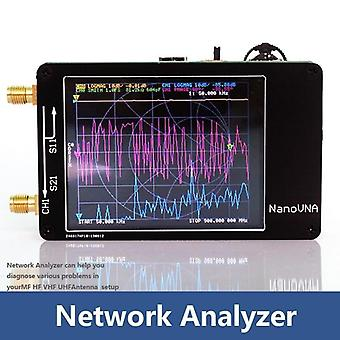 50khz-900mhz Vector Network Analyzer, Digital Touching Screen Shortwave