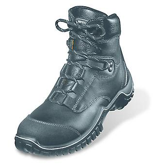 Uvex 6986/2 Size 11 Motion Light Lace Up Safety Boots With Midsole S3 Black EU46
