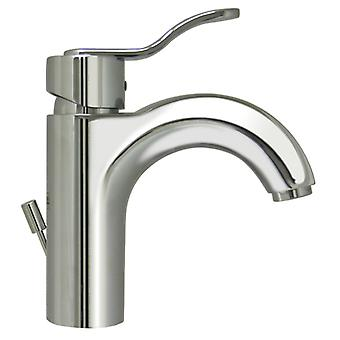 Wavehaus Single Hole/Single Lever Lavatory Faucet with Pop-Up Waste - Cromato lucido