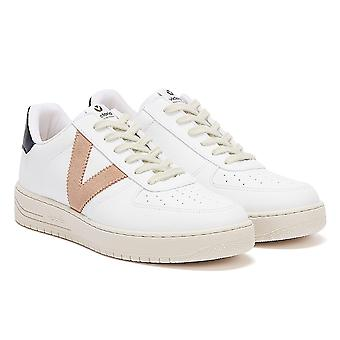 Victoria Siempre Contrast Vegan Womens White / Pink Trainers