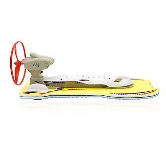 Diy aerodynamisk hurtigbåt modell kits elektrisk yacht montering modell leketøy fysikk eksperiment vitenskap utdanning leker for barn gaver