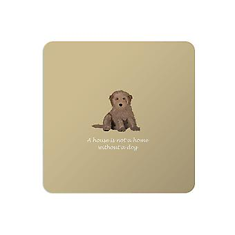 Bailey and Friends Dog Placemat Cockapoo Mustard