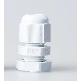 Plastic Cable Gland - Ip68 Pg9, M16, 4-8mm, Waterproof Nylon Cable Gland