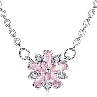 Petal Pendant Necklace