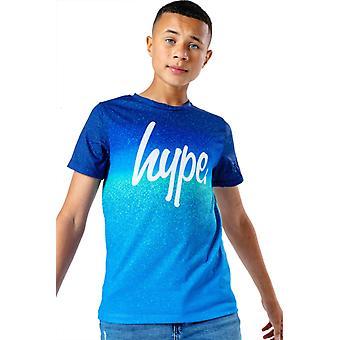 Hype Kids Sea Fade T-Shirt Azul 06