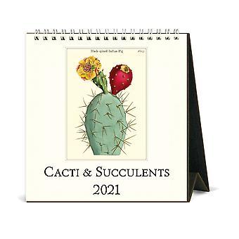 Cavallini & Co Succulents Desk Calendar 2021
