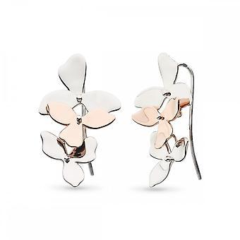 Kit Heath Blossom kronblad Bloom Trio plade dråbe øreringe 60271RG028