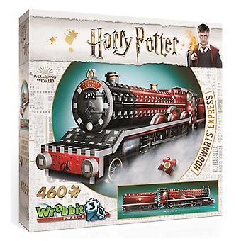 Wrebbit 3D Harry Potter Hogwarts Express Jigsaw Puzzle - 460 Pieces