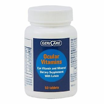 McKesson Eye Vitamine Supplement Geri-Care Vitmain A / Ascorbinezuur / Vitamine E 14320 IE - 226 mg - 200 IU St, 60 Tabs