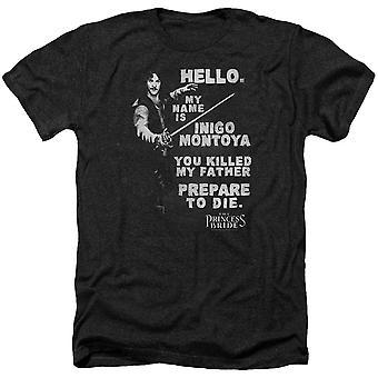 Princess Bride Hello Again T-shirt