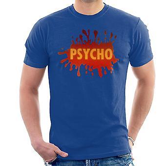 Psycho Splatter Logo Men''s T-Shirt