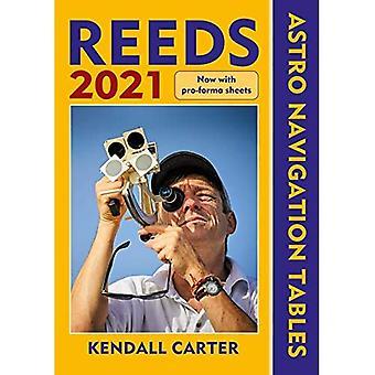 Navigatietabellen 2021 van Reeds Astro